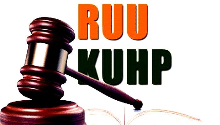 Undang-undang hukum pidana (RKUHP)