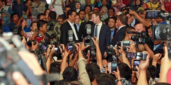 Mark Zuckerberg dituntut minta maaf ke Presiden Jokowi